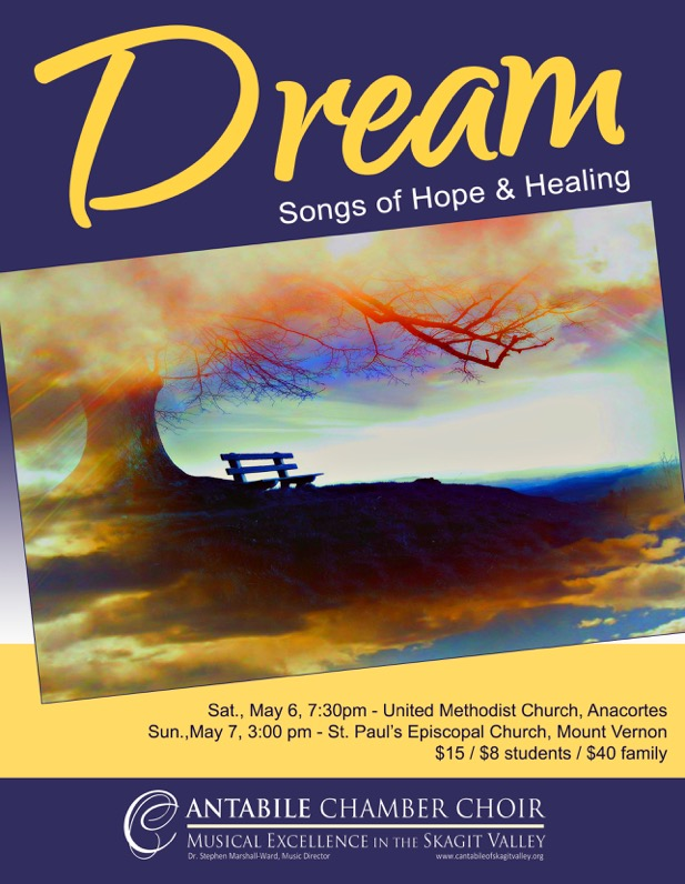 DREAM. Dream - Songs of Hope & Healing with Cantabile Chamber Choir
