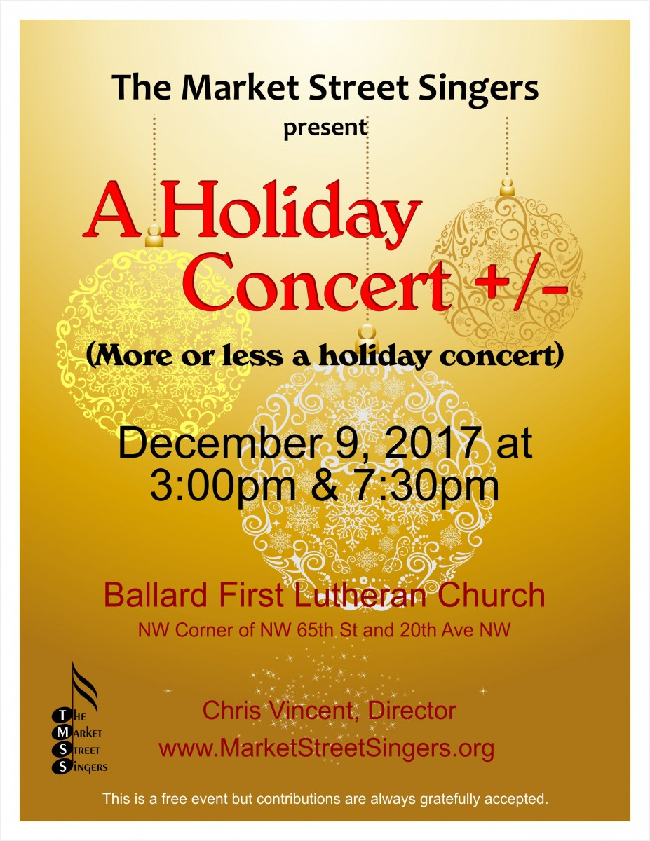 Holiday Concert +/-
