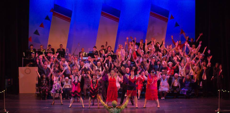 We Can't Stop the Beat: 40 Years of Tony Awards. Choir of the Sound pops show 2015, photo by Dennis Riggs/Selenea Photo Art