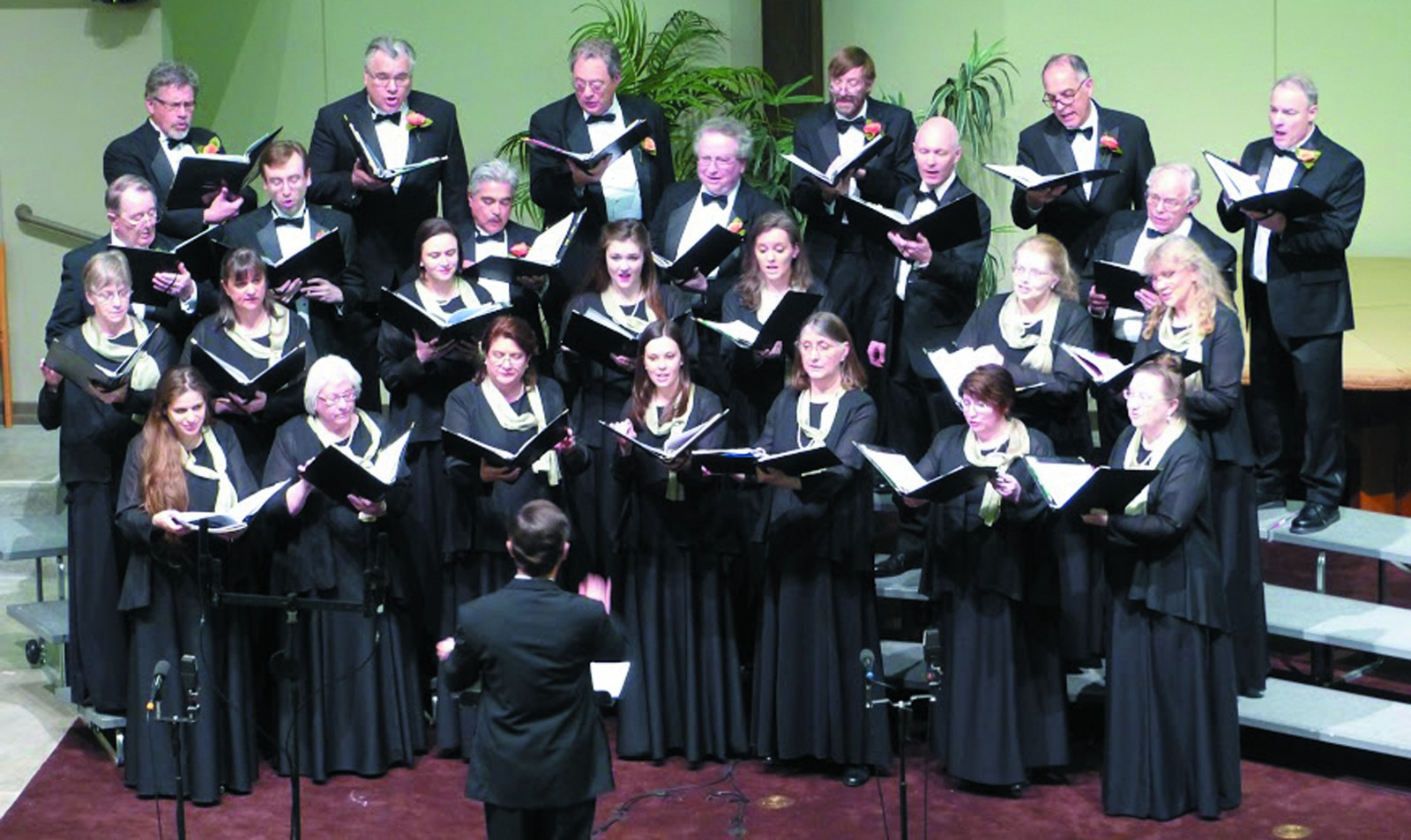 Bellevue Chamber Chorus. Bellevue Chamber Chorus, March 2016