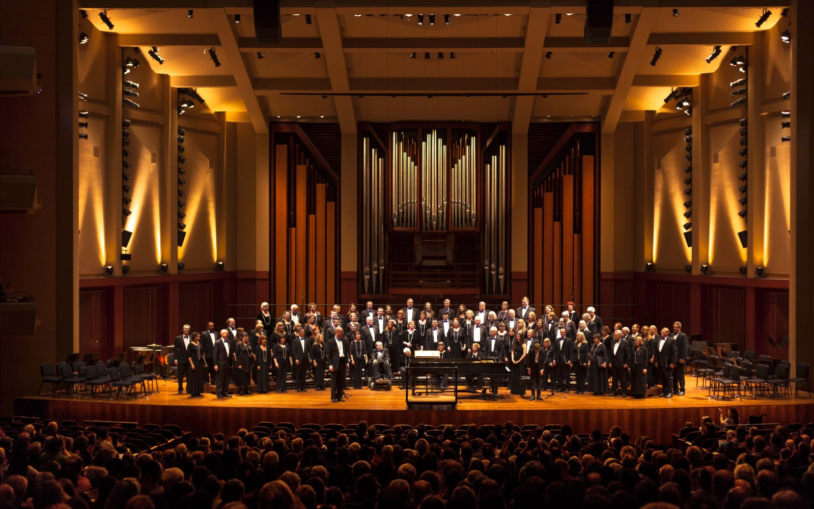 Choir of the Sound. Choir of the Sound at Benaroya Hall 2015, photo by Dennis Riggs/Selenea Photo Art
