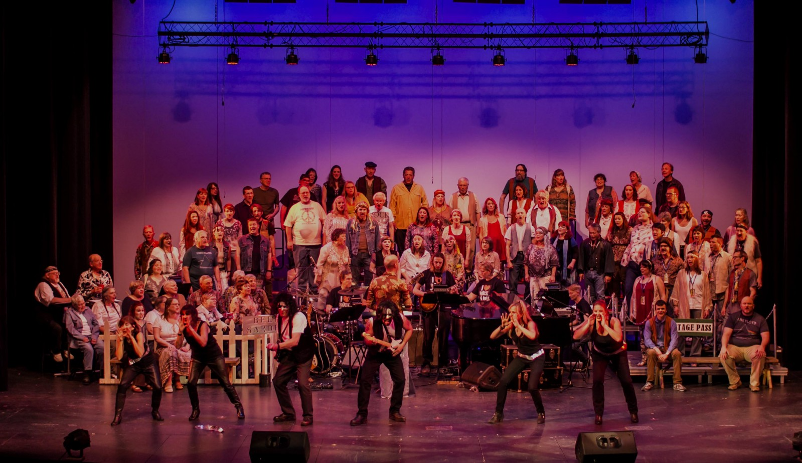 "Choir of the Sound. Choir of the Sound ""We (Love) Rock-n-Roll"" 2016, photo by Dennis Riggs/Selenea Photo Art"
