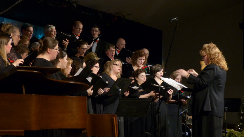 Kitsap Community Chorale. Photo credit:  Tom Wagner