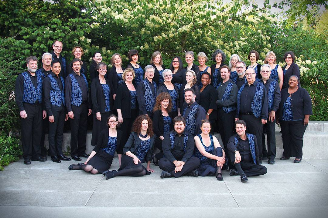 Northwest Firelight Chorale. 2015 Full Choir (Photo by Dartanyon Race)