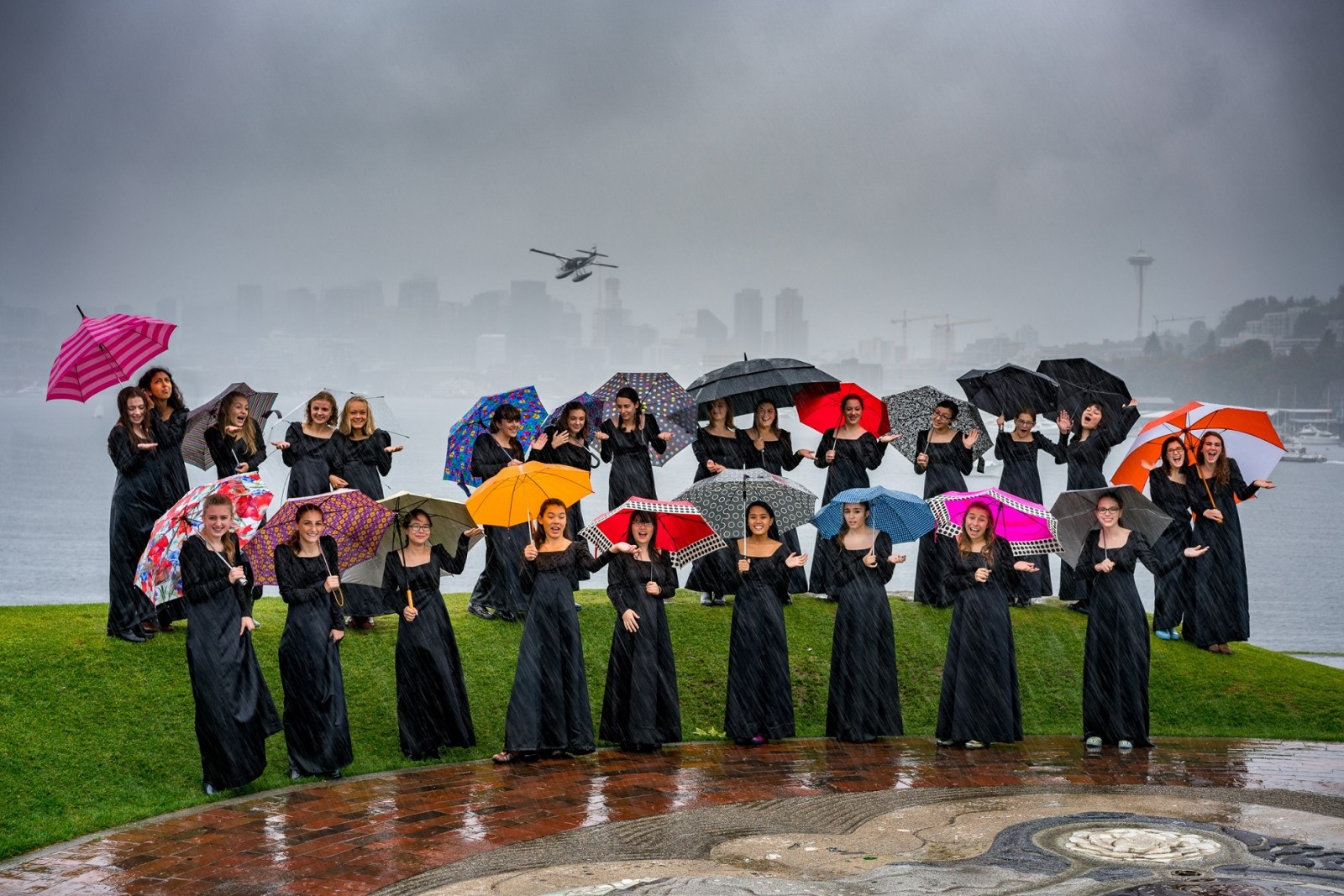 Seattle Girls Choir. Prime Voci at Gas Works Park, Seattle