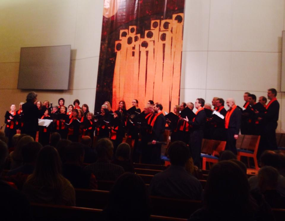Seattle Peace Chorus. We give two major concerts each year, & sing at numerous community events.