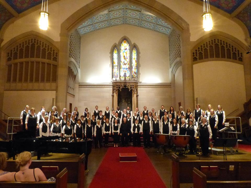 The Market Street Singers. Spring Concert 2015 - University Chirstian Church