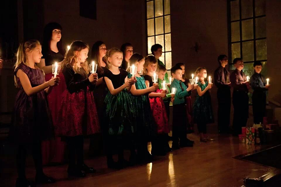 9th Annual Christmas Concert. Silent Night by candlelight