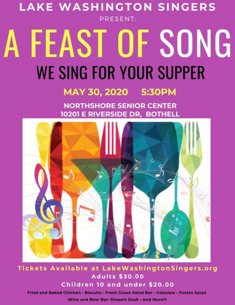 A Feast of Song: We Sing for your Supper