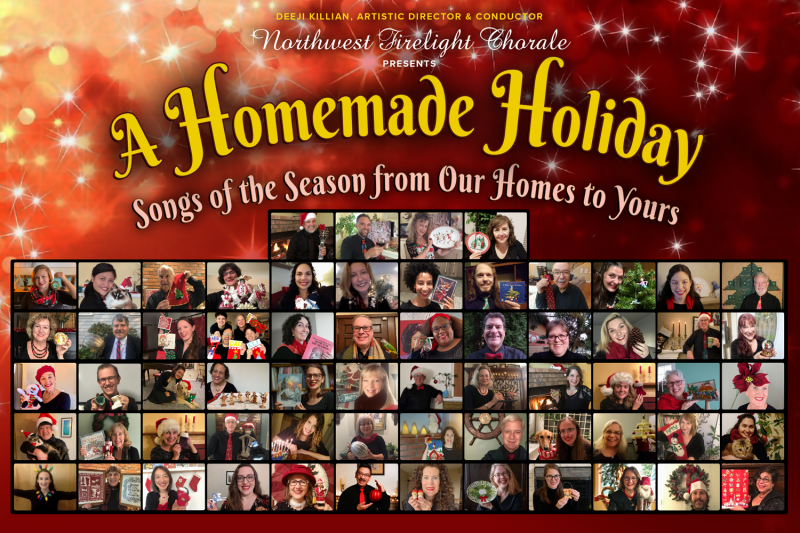 A Homemade Holiday. Your ticket purchase helps our non-profit community arts organization not only to survive, but to co