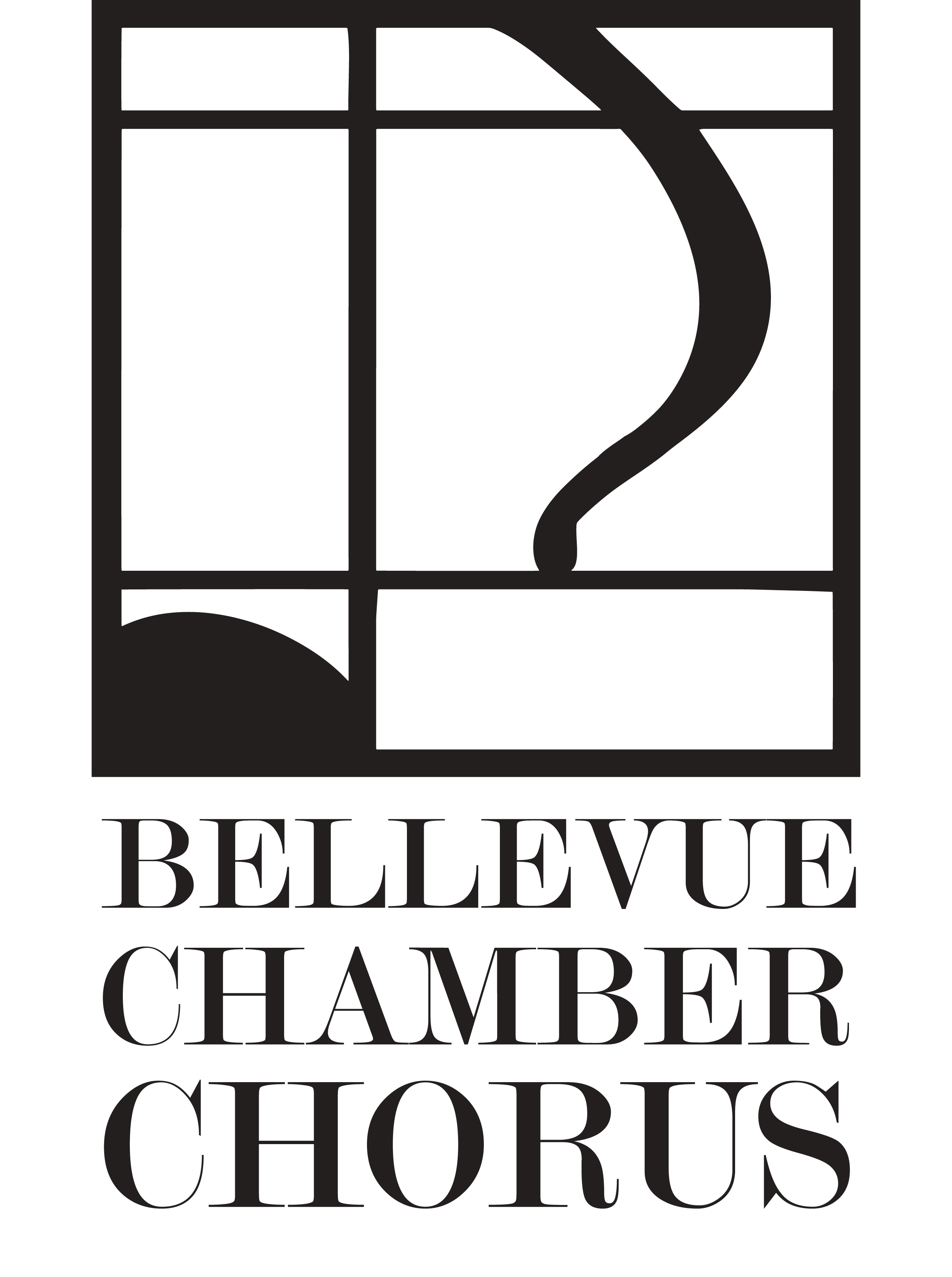 Audition for Bellevue Chamber Chorus!. Chris Meierding, Meierding Designs