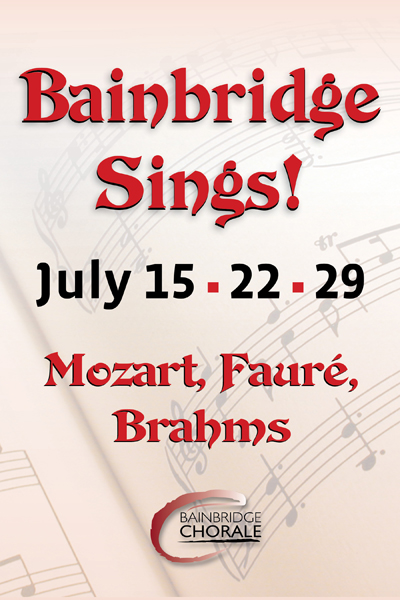 Bainbridge Sings! Brahms German Requiem