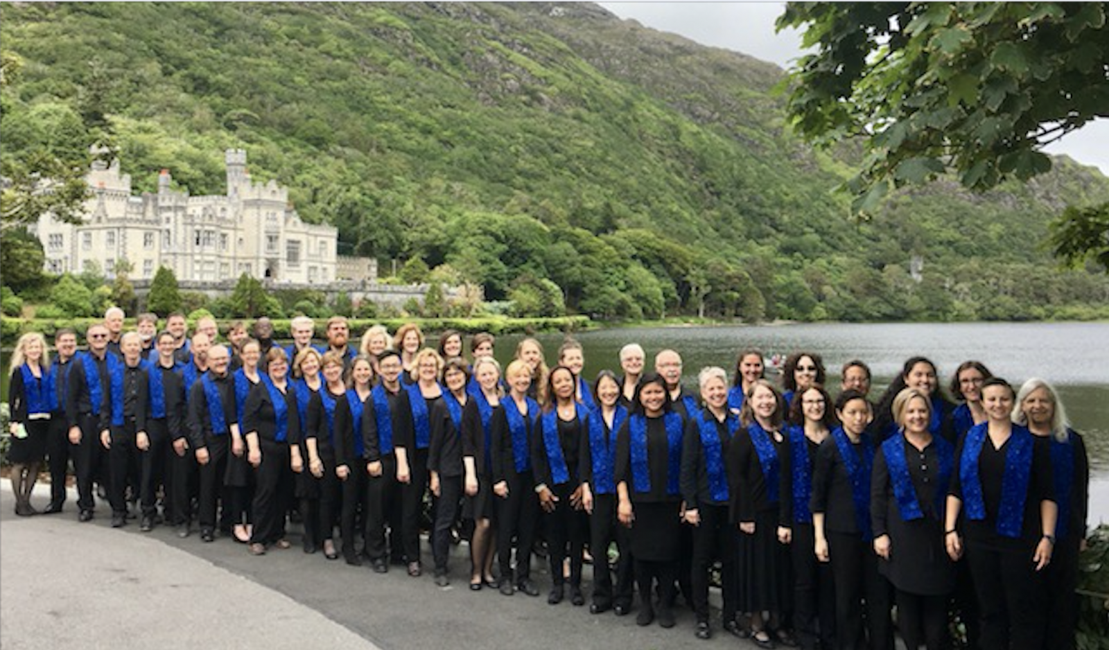 For the Love of Ireland!. The Northwest Firelight Chorale, Kylemore Abbey, Ireland, Summer 2018