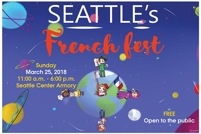 French Fest at Seattle Center