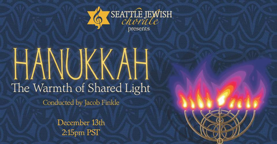 Hanukkah:  The Warmth of Shared Light. Graphics by Naomi Smith and Johnny Unicorn