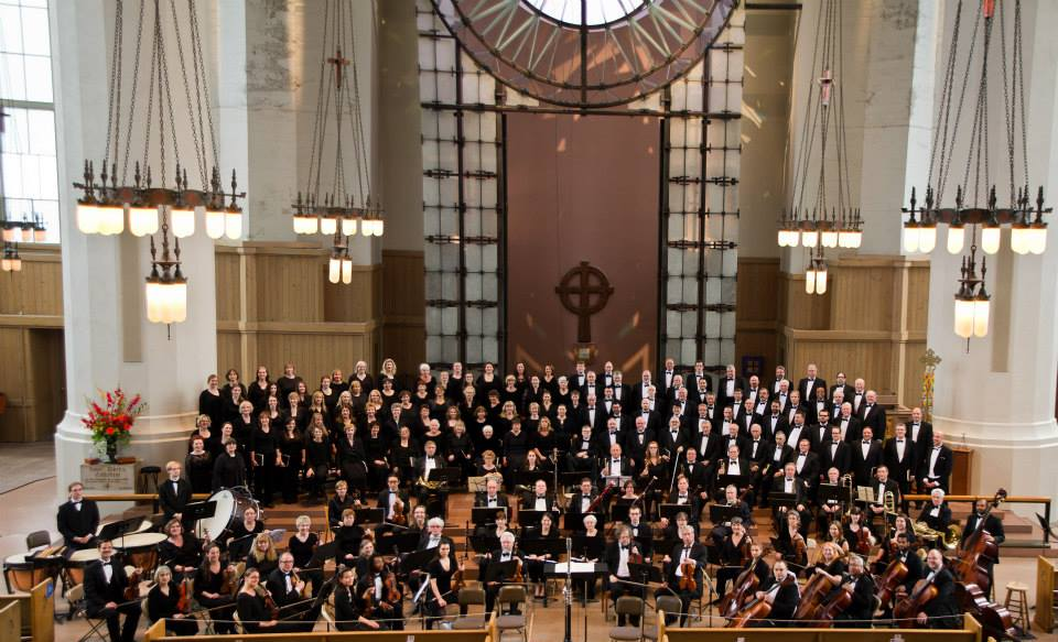 Mozart Requiem. Choir of the Sound and Thalia Symphony Orchestra 2014, photo by Dennis Riggs/Selenea Photo Art