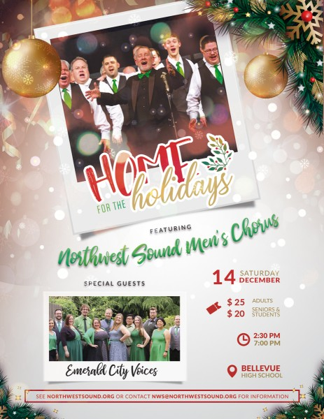 "Northwest Sound Presents ""Home for the Holidays"""