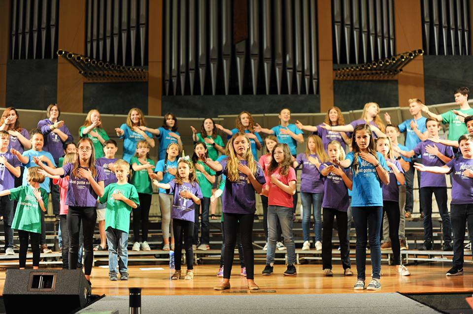 """Seasons of Love"" 8th Annual Spring Concert. Dress Rehearsal - Spectrum Choral Academy"