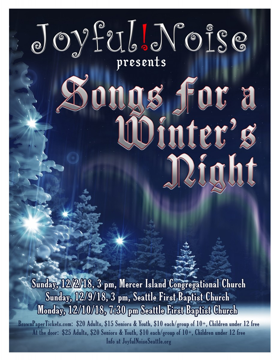 """Songs for a Winter's Night"""