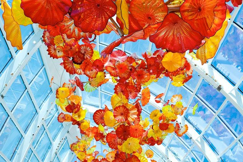 The Met Performs at Chihuly Garden & Glass Museum. Chihuly Glasshouse Photographer