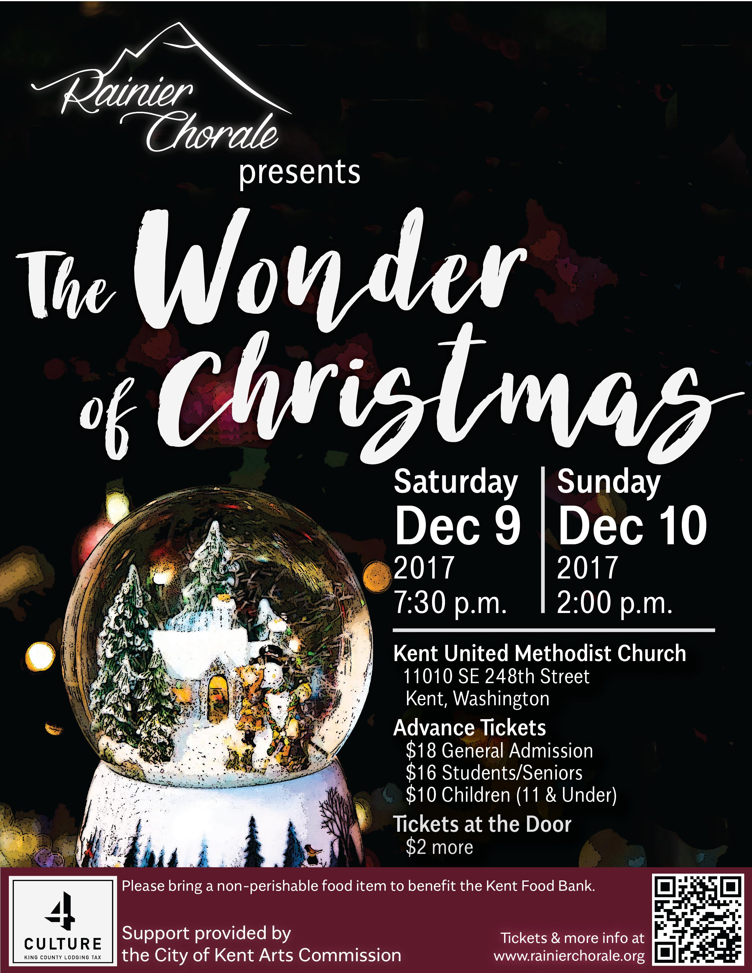 The Wonder of Christmas – Seattle Sings
