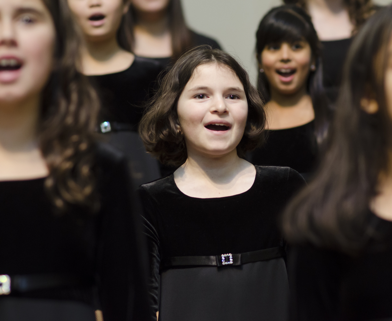Bellevue Youth Choirs. Ailisa Newhall, Pinehurst Photography