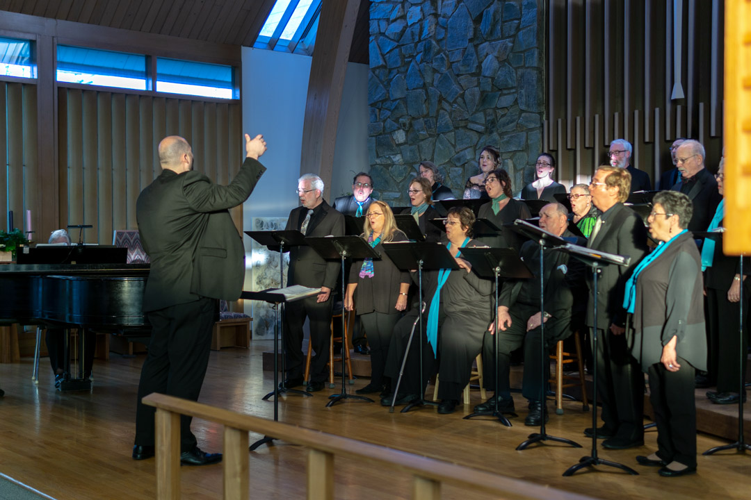 Cantabile Chamber Choir. Winter Aglow! concert at St. Paul's Episcopal Church, Mt. Vernon, WA.
