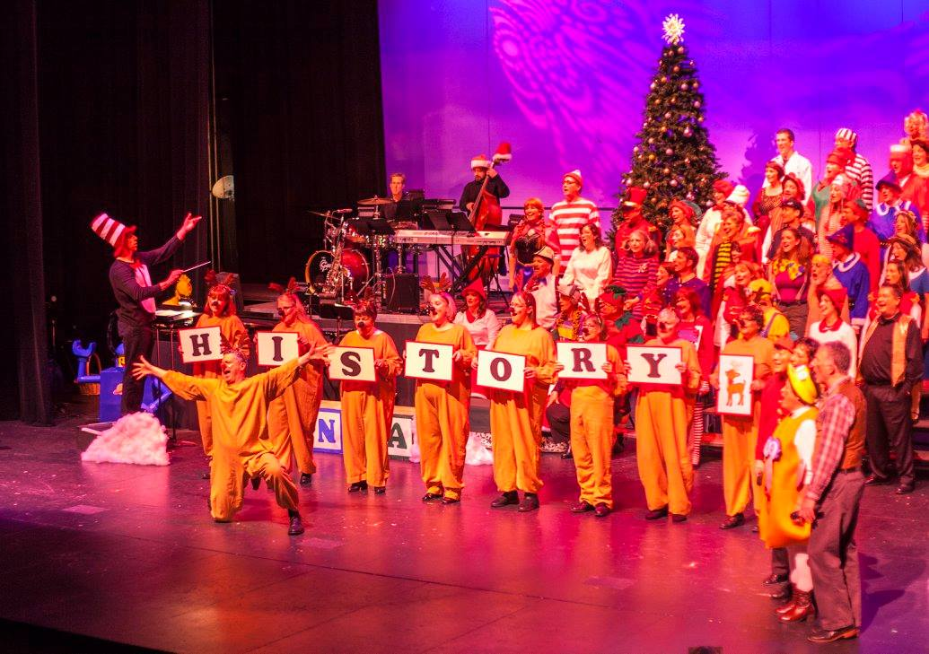 Choir of the Sound. Choir of the Sound holiday show, photo by Dennis Riggs/Selenea Photo Art