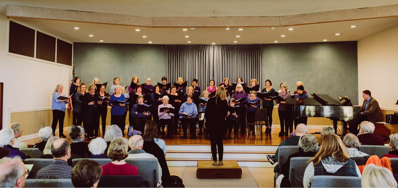Emerald City Women's Chorus. March 2018 concert