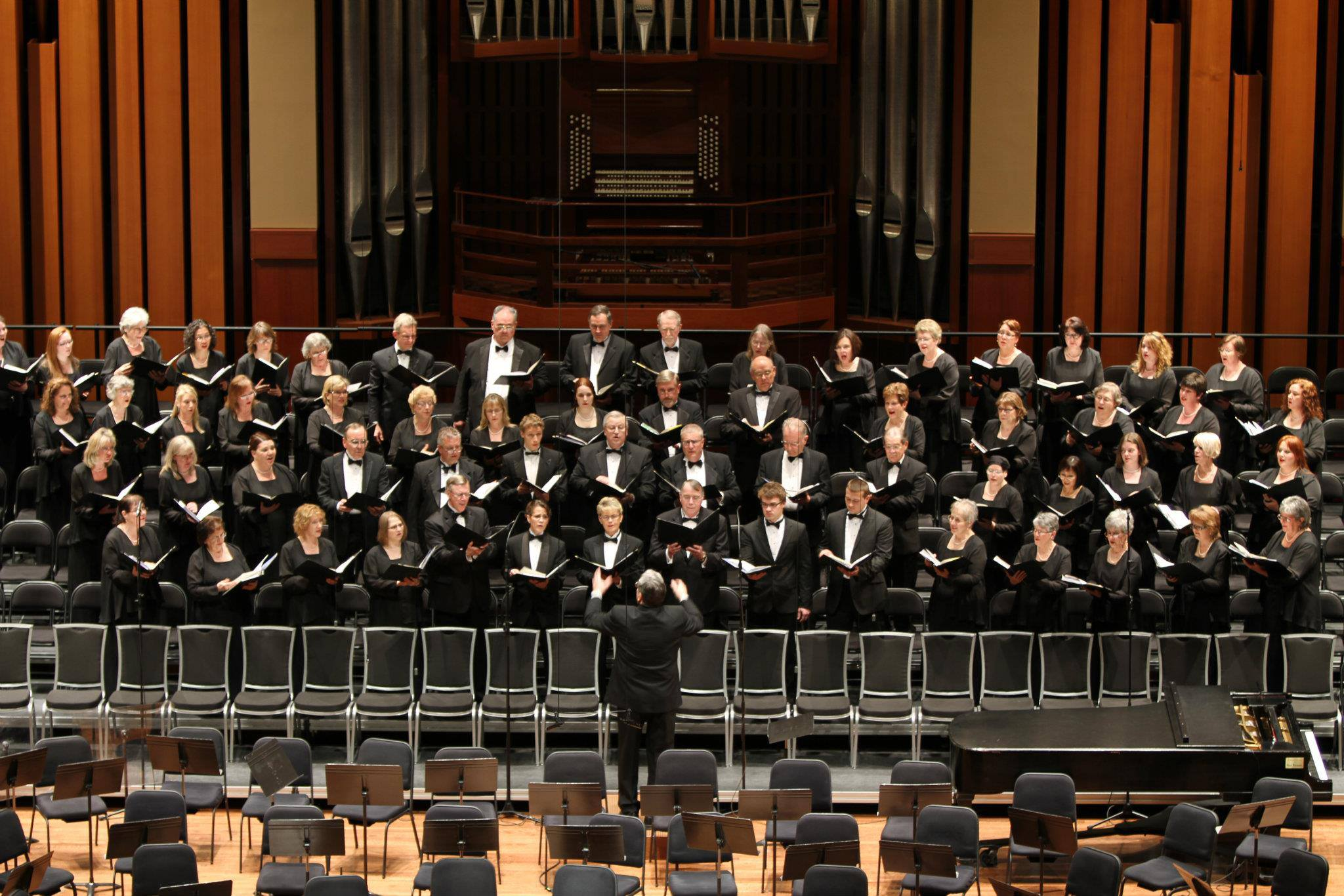Everett Chorale. Performing at Benaroya Hall in Seattle
