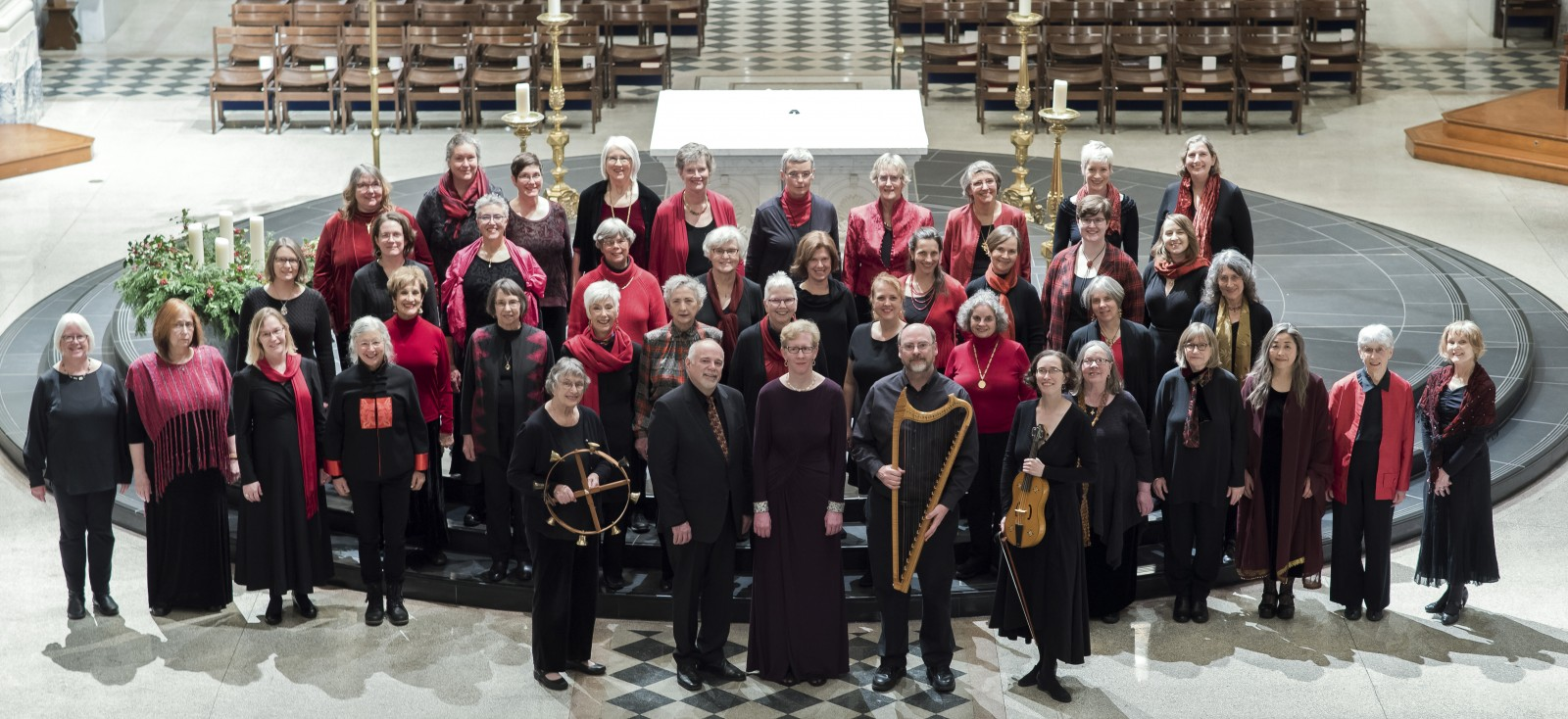 Medieval Women's Choir. Medieval Women's Choir at St. James. All photos by Ailisa Newhall.