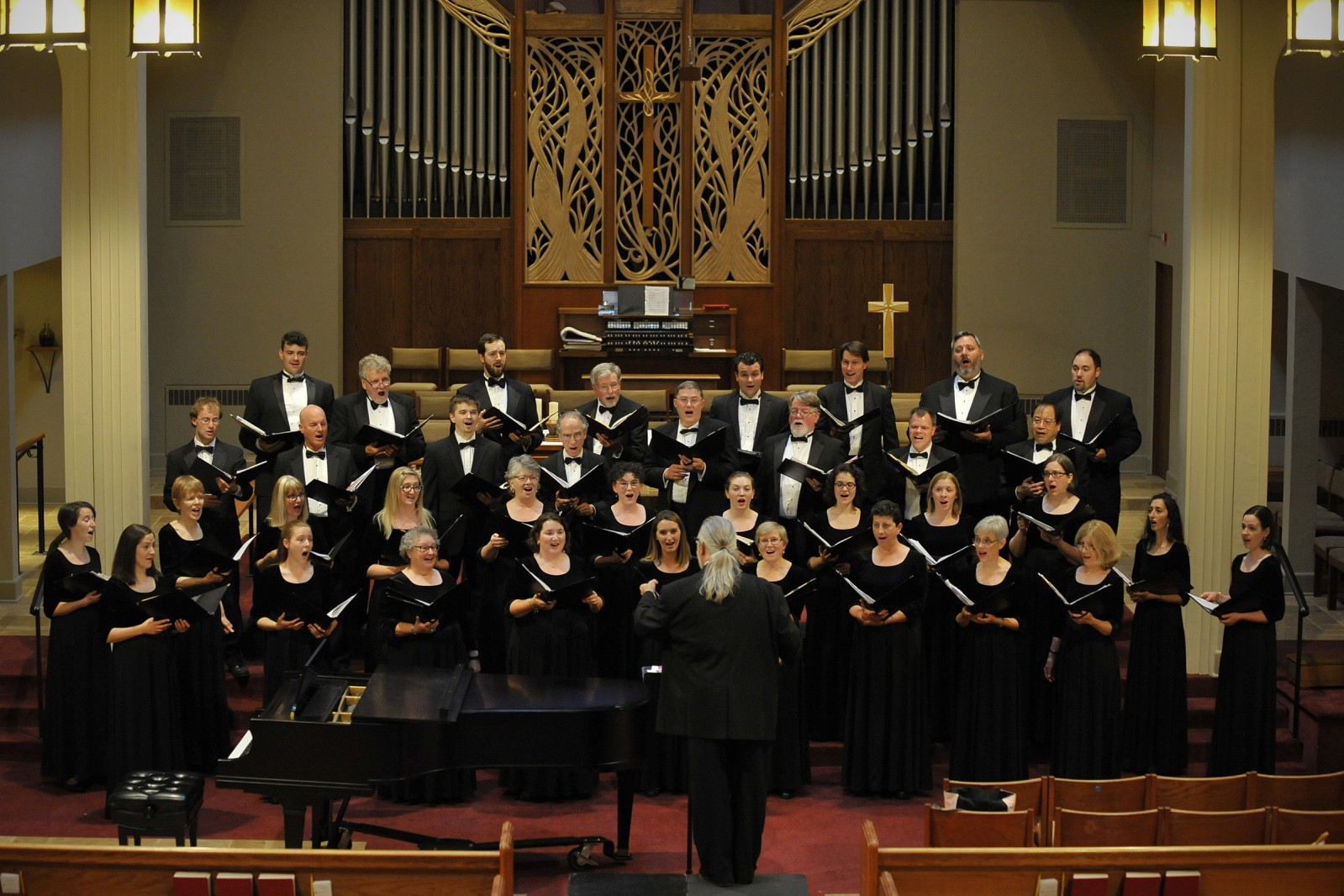 Northwest Chamber Chorus. Photo by Rodger Pickett