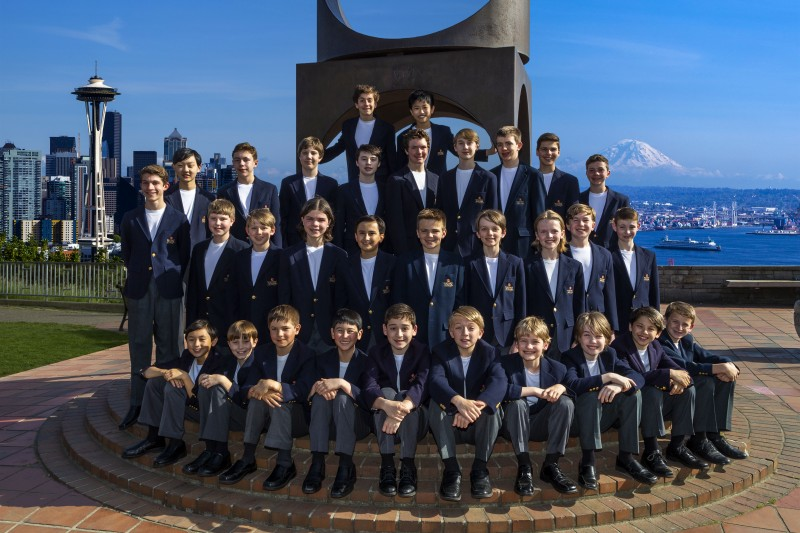 Northwest Choirs: Northwest Boychoir & Vocalpoint! Seattle. Northwest Boychoir (BenVanhouten)