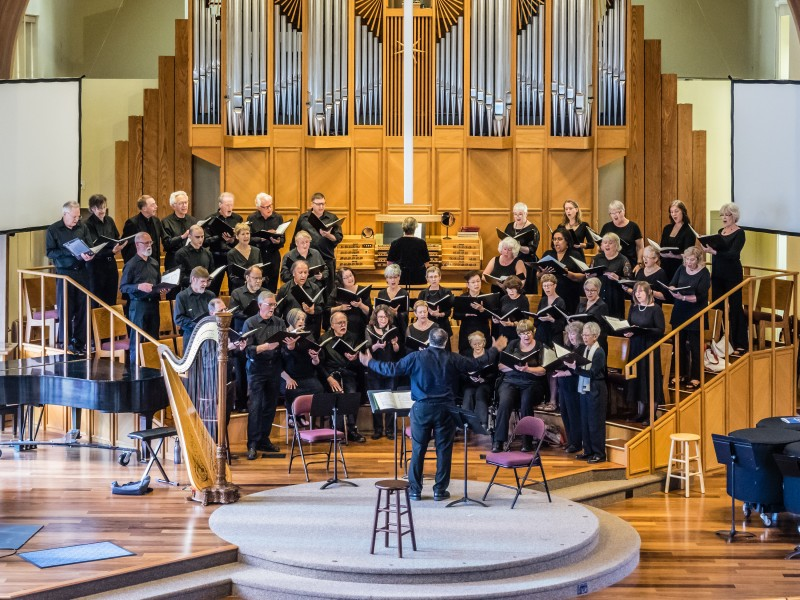 Northwest Chorale. William Stickney May 2019 'A Very Choral Springtime'