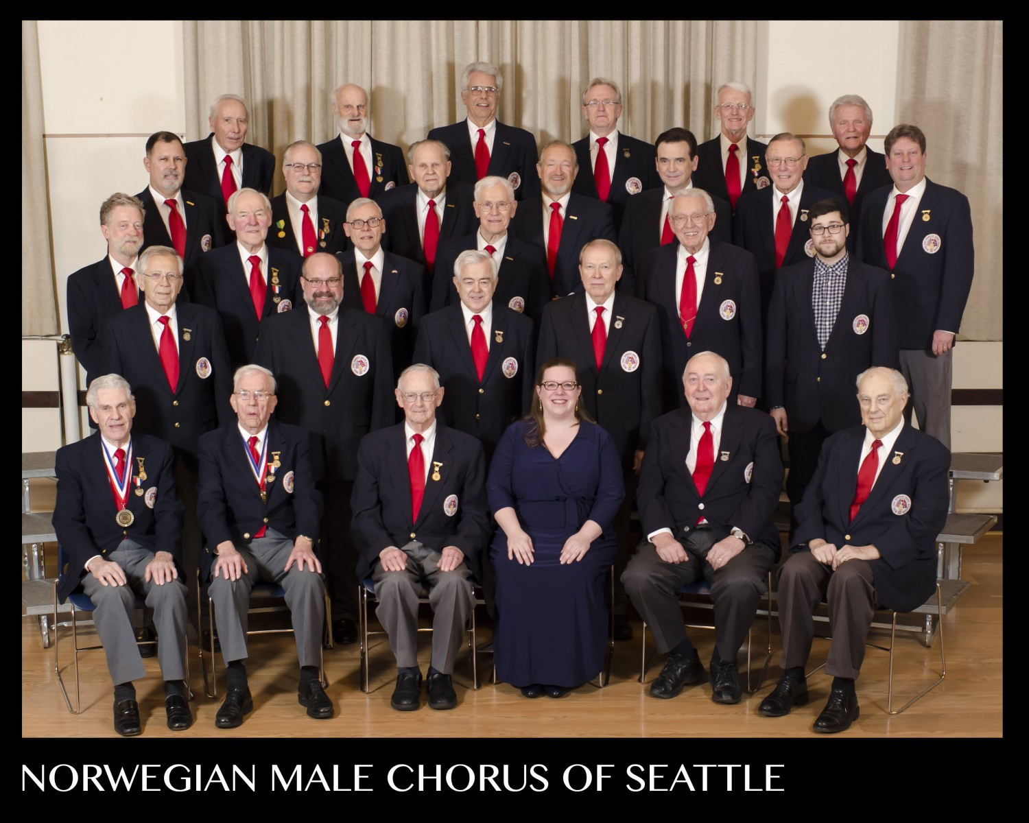 Norwegian Male Chorus of Seattle. NMCS 2016, photo credit Pinehurst Photography