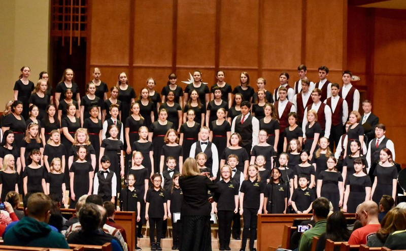 Rainier Youth Choirs. April 2019 Finale