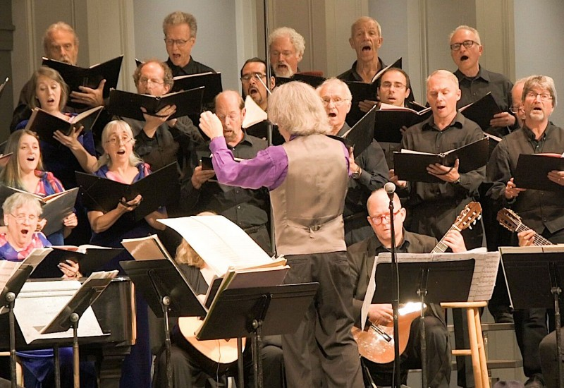 "Seattle Peace Chorus. Seattle Peace Chorus singing ""Canto General"" at Town Hall, June 2019"