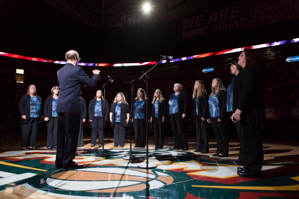 sonus boreal national anthem seatle storm basket ball game - Warm Beach Lights Of Christmas