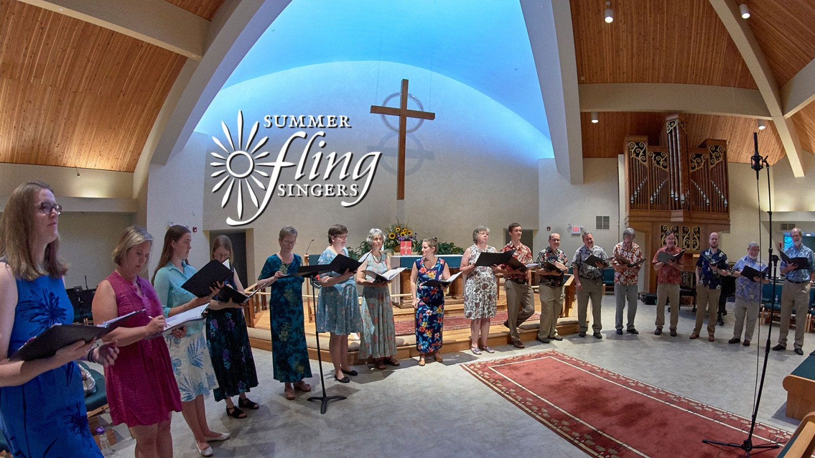Summer Fling Singers. Summer Fling 2017 at St. Margaret's. Photography by Philip D. Lanum.