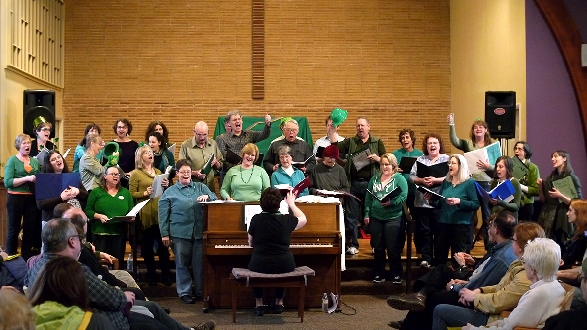 The OK Chorale. St Patrick's Day concert