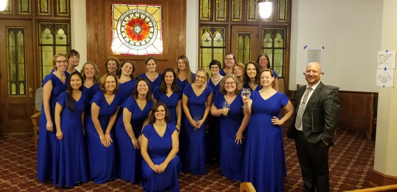 The Sonoro Women's Choir. Sonoro Women's Choir